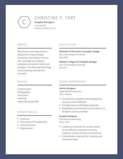 Graphic Designer Cv Example Neu Customize 563 Design Resume Templates Online Canva
