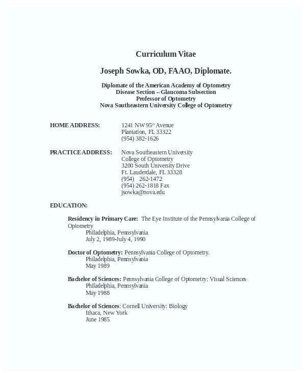 College Student Cv Example Schön Student Cv Examples for Internship