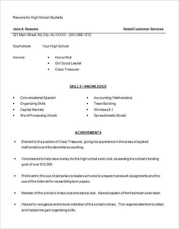 Curriculum Vitae Samples for Freshers Schön Resume format
