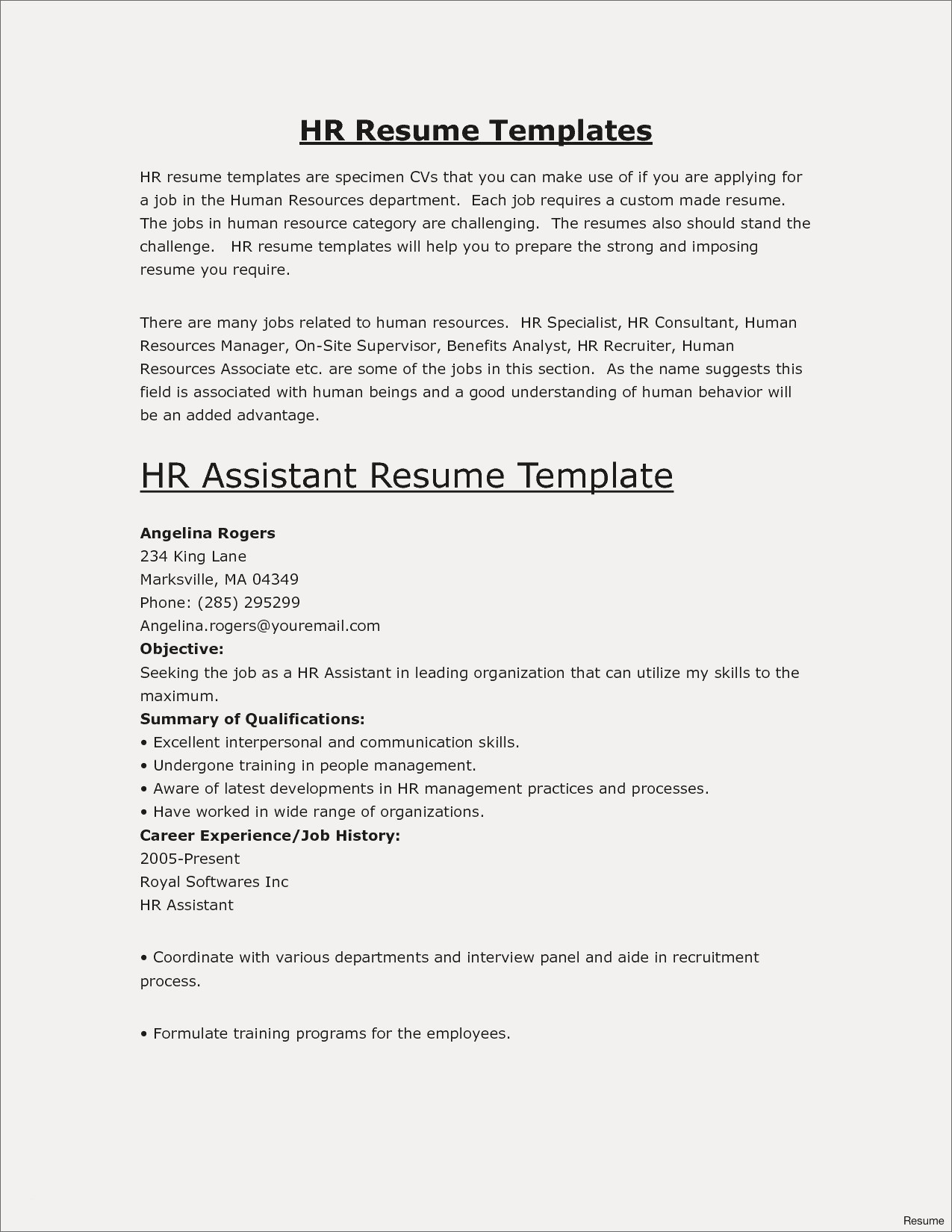 Cv Example Personal Profile Inspirierend Personal Statement Resume ...