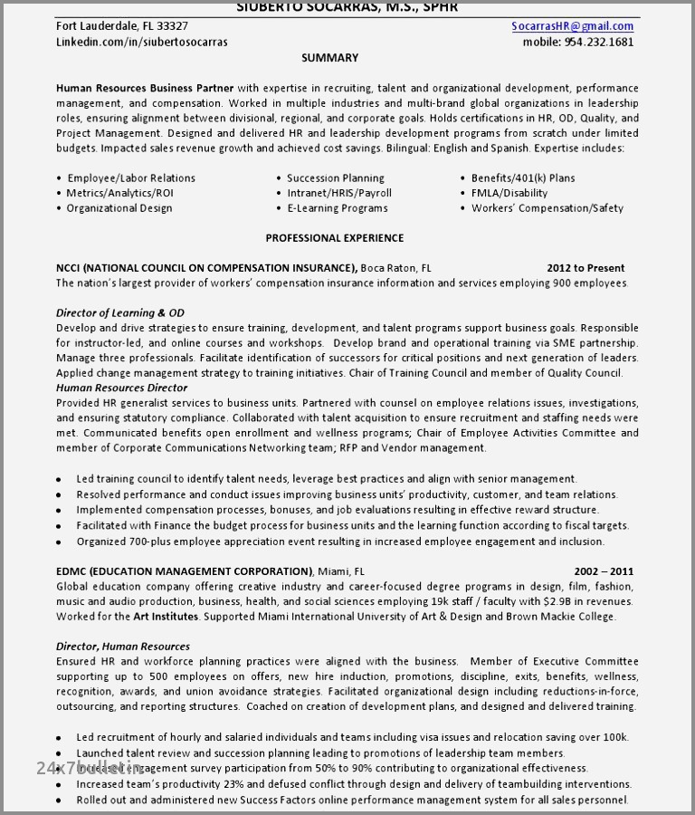 Cv format for English Teacher Job Großartig Sample Resume