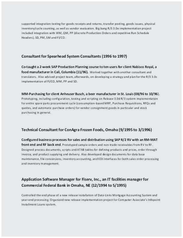 Resume Format For Bank Job Pdf