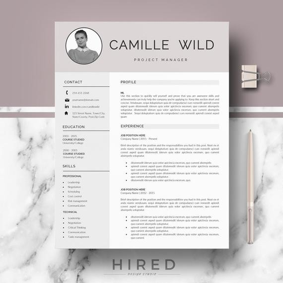 Cv Format In Sri Lanka Pdf Inspirierend Professional Template Resume For Word And Pages 1 2 Page Templates Instant