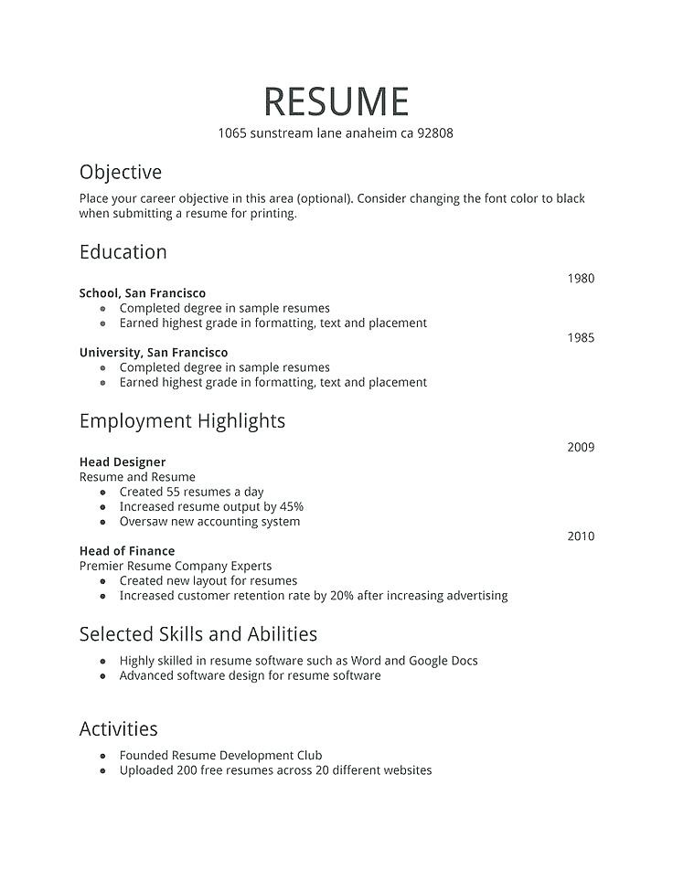 Resume For Bank Jobs For Freshers Pdf