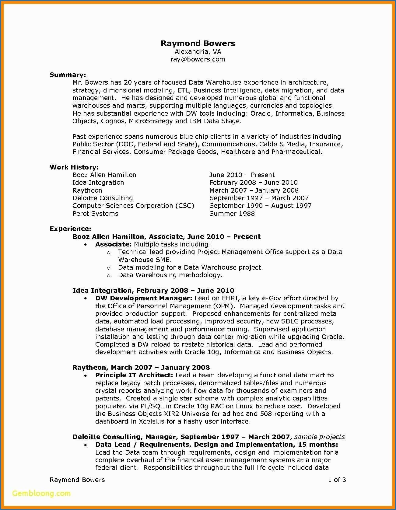 Business Resume Example 2019 69