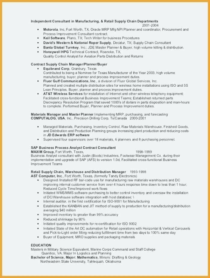 Cv Sample for Job In Pakistan