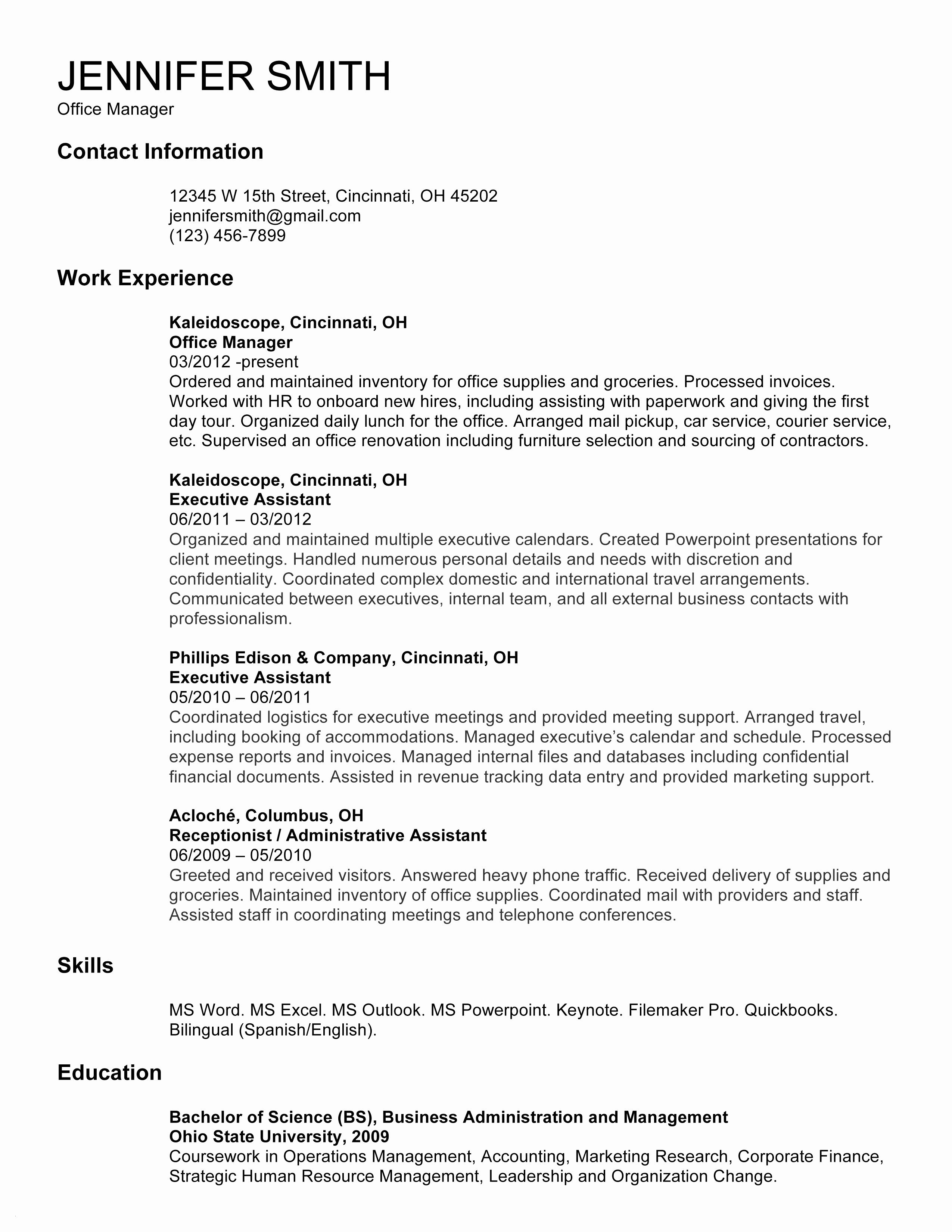 Cv Template In English Doc Best Of Resume Sample Doc Awesome ...