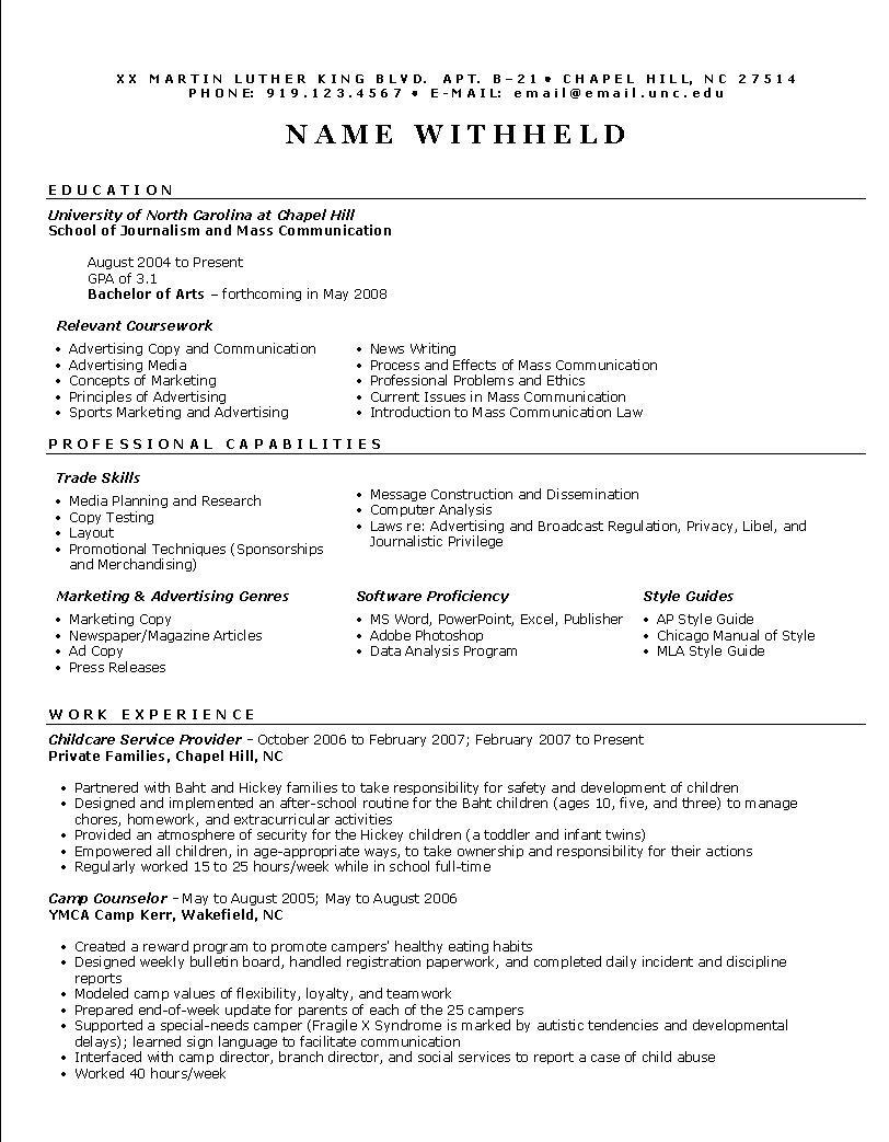 Employment Cv Sample Pdf Schon Professional Resume Template Cv