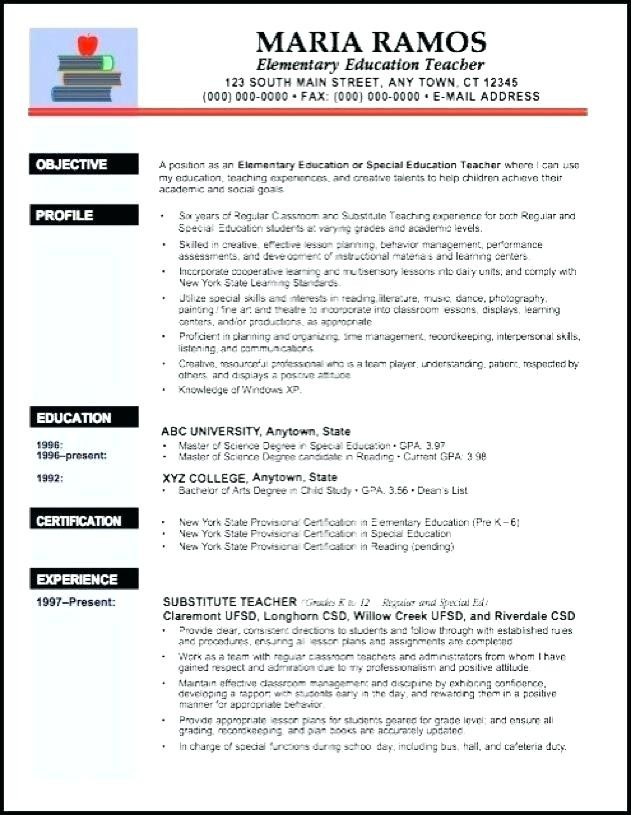 English Teacher Cv Sample Neu Resume Template Word Of