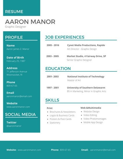 Graphic Design Cv Pinterest Schon Designer Resume Templates By Canva