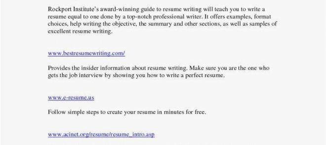 Journalist Cv Sample Pdf Grossartig Resume Writing Objective