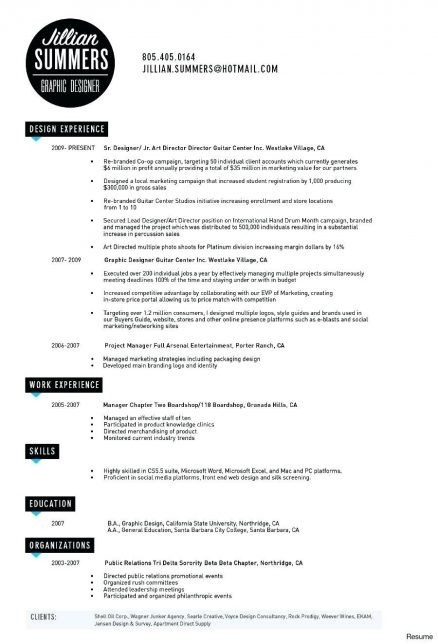 Junior Graphic Designer Cv Schon Freelance Resume Examples Pdf Sample 2017 Of