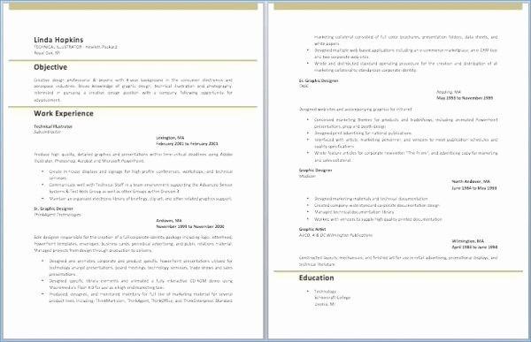 Lebenslauf Vorlage Modern Word Kostenlos Luxus Resume Templates Word ...