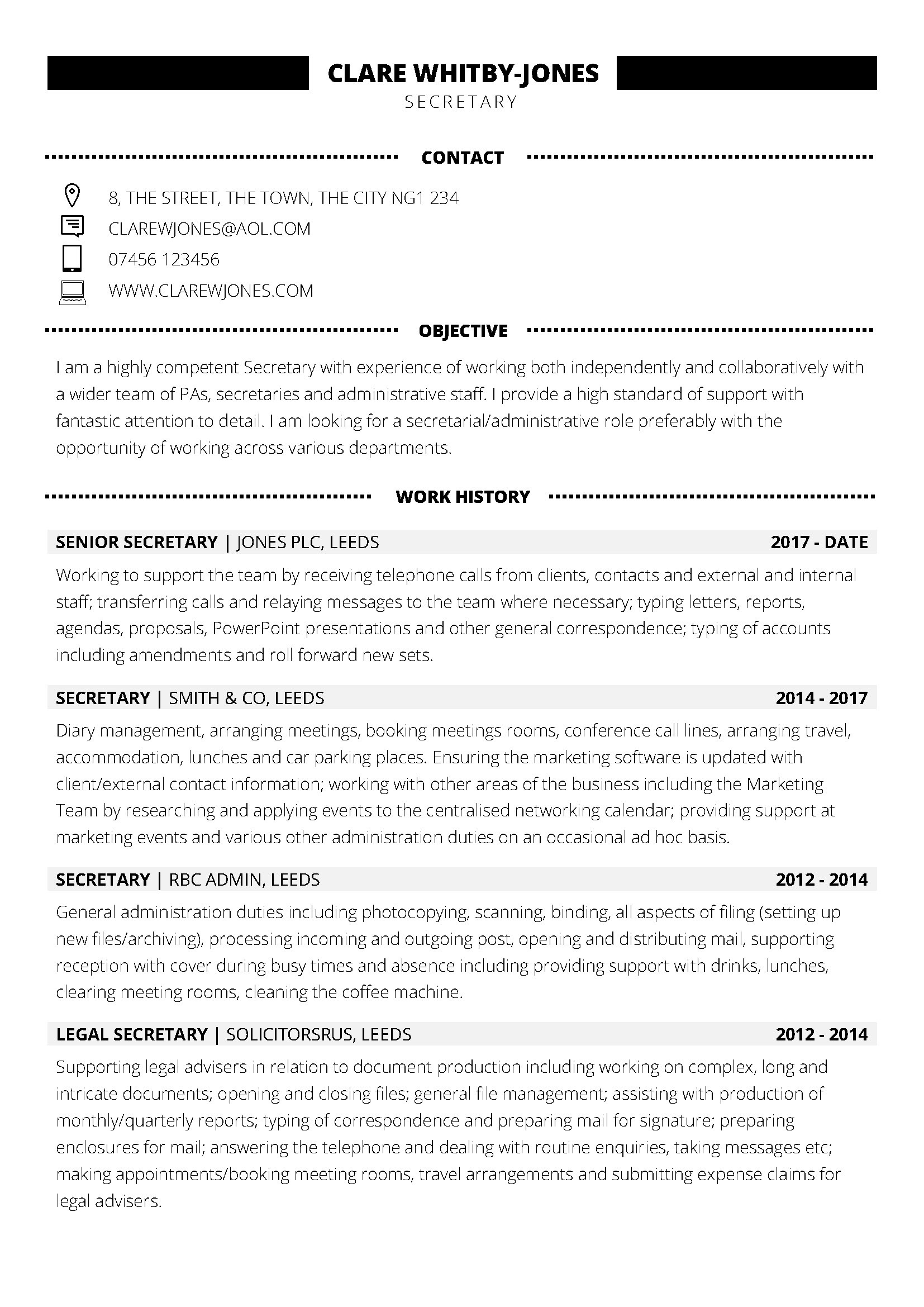 Modern Cv Template Nz Schon Work Based Buransiondelrio Of