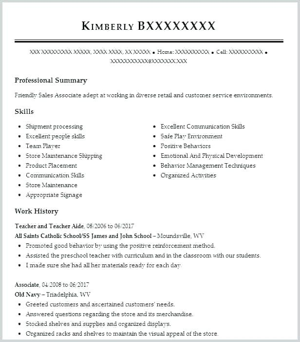 Sales Manager Cv Example Grossartig Retail Assistant Resume Examples Sample