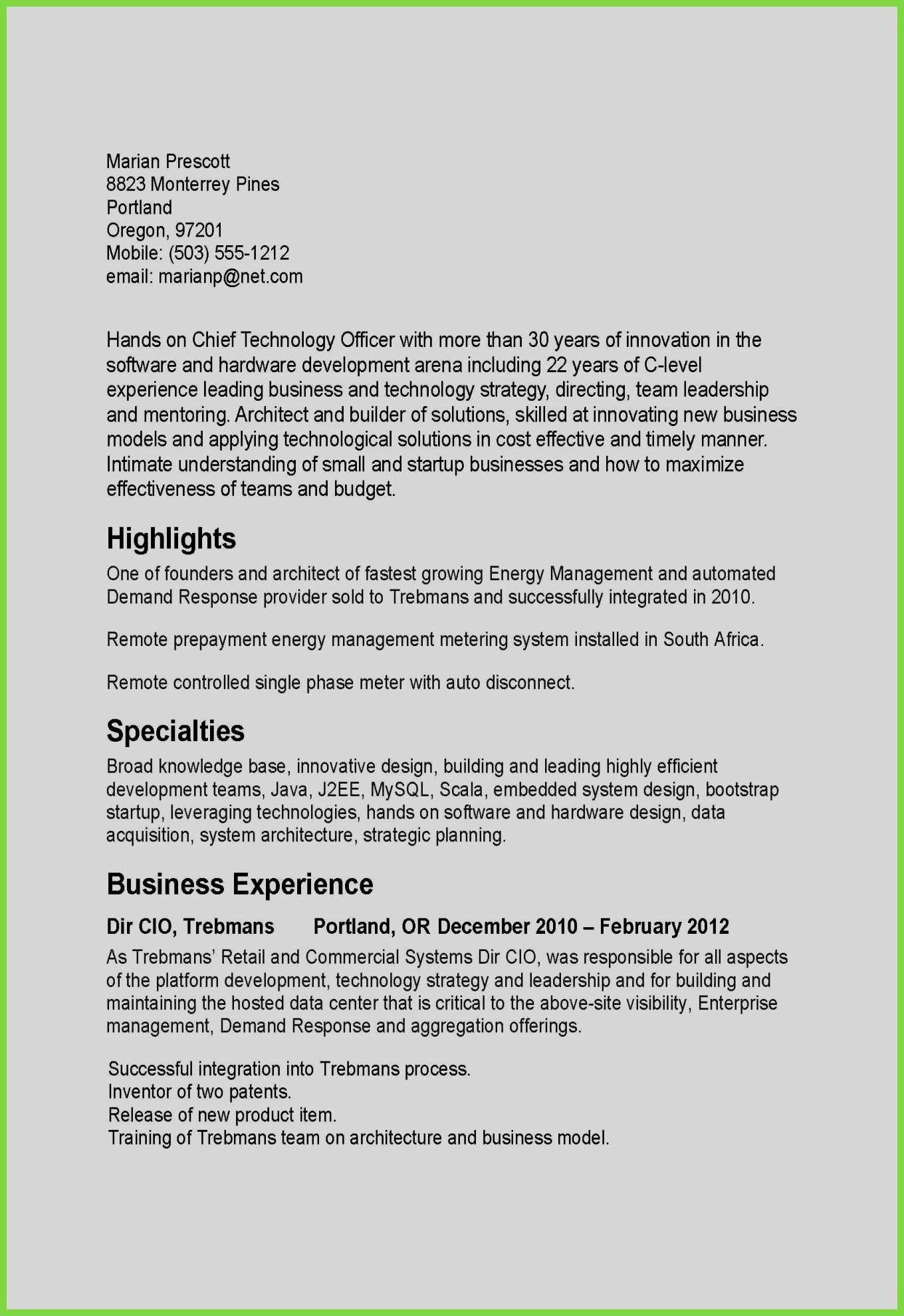 Basic Resume Examples Pdf 74