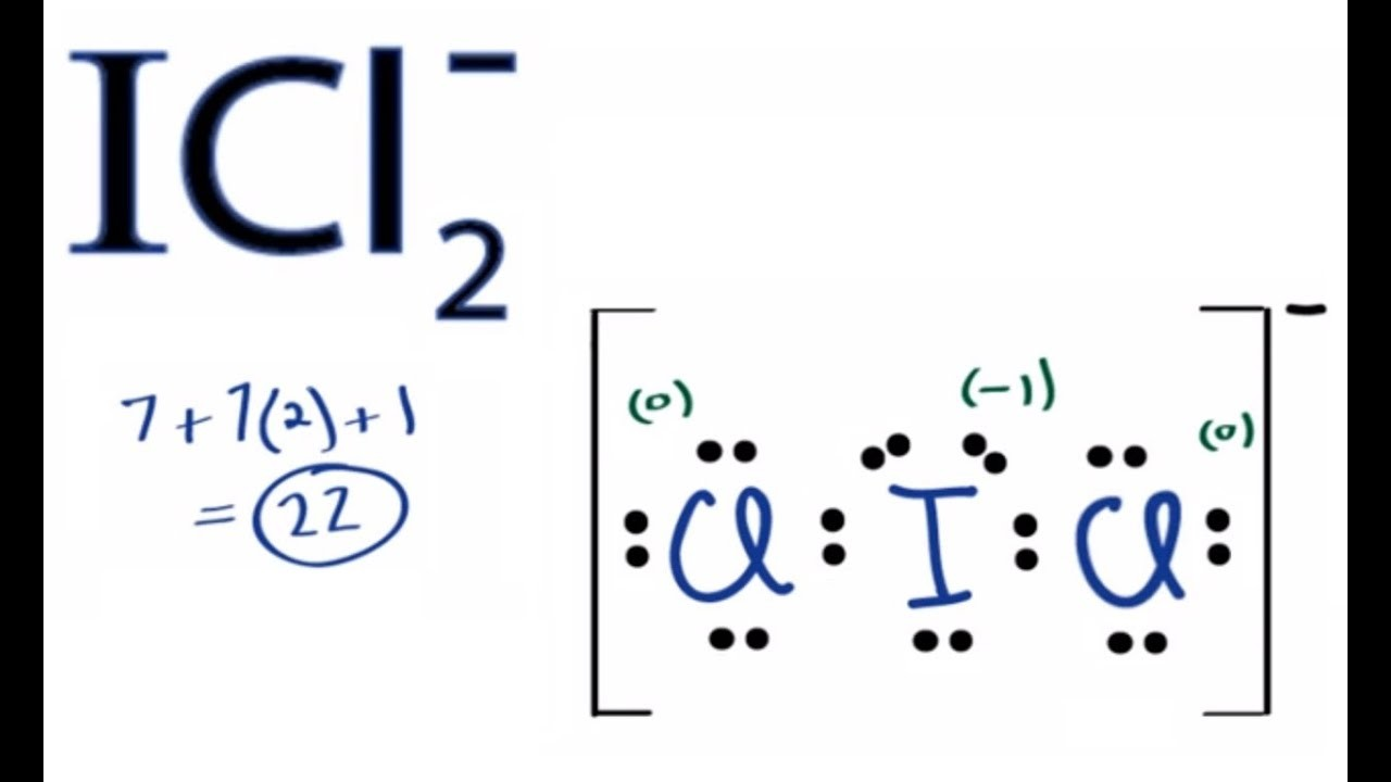 Diagram Of An Atom Labeled Unique Icl2 Lewis Structure How To Draw