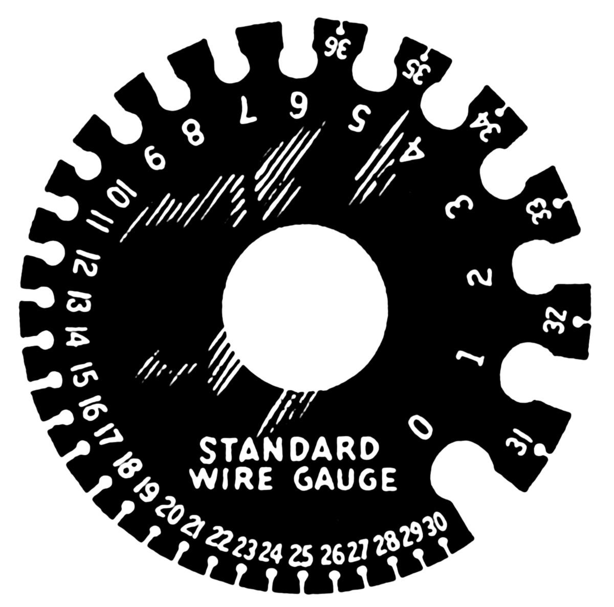 Form 16b Pdf Inspirational Standard Wire Gauge