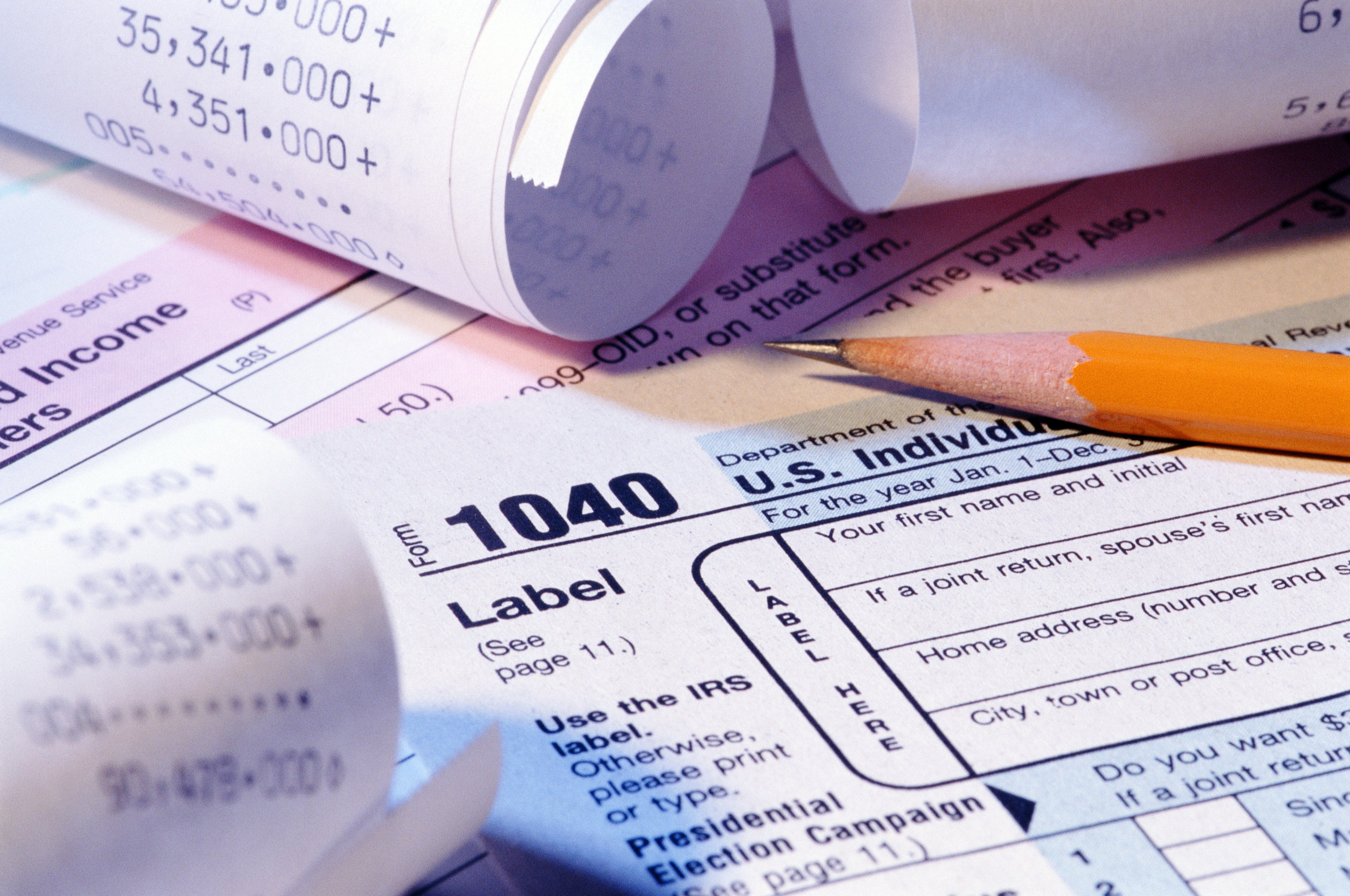 Irs Tax form 1040 for 2018