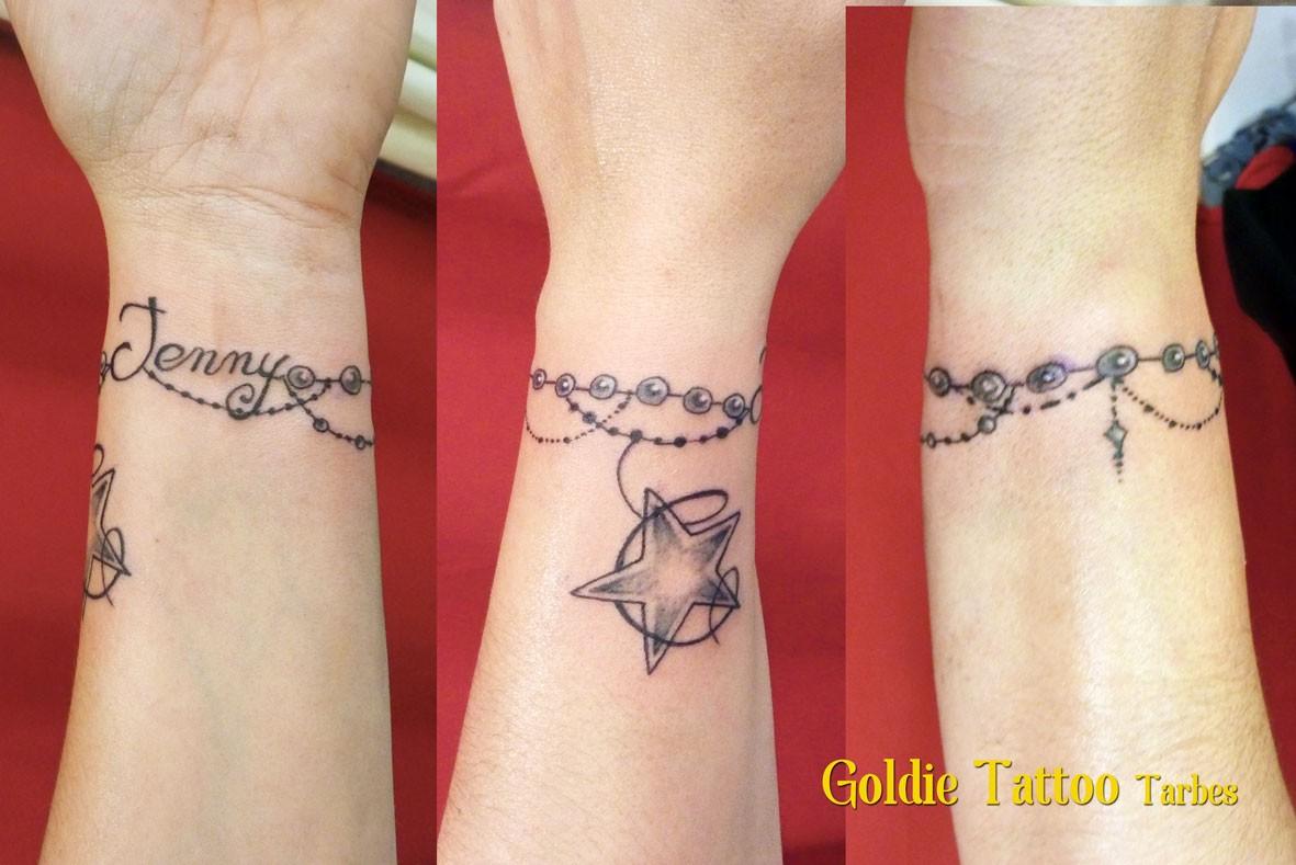 Tatouage Poignet Homme Prenom Le Meilleur De Tatouage Femme Bracelet