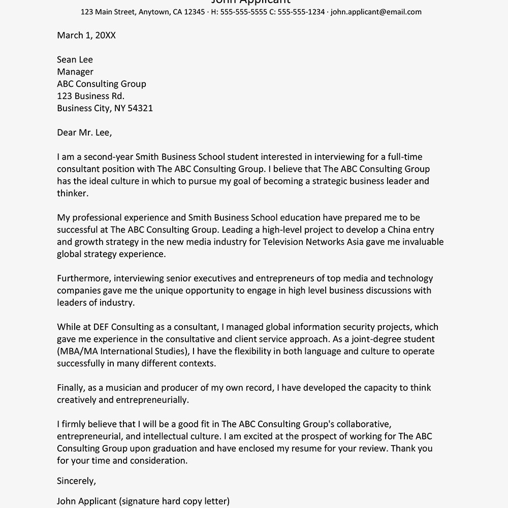 Automotive Engineering Cv Examples Excelente Consultant Cover Letter ...
