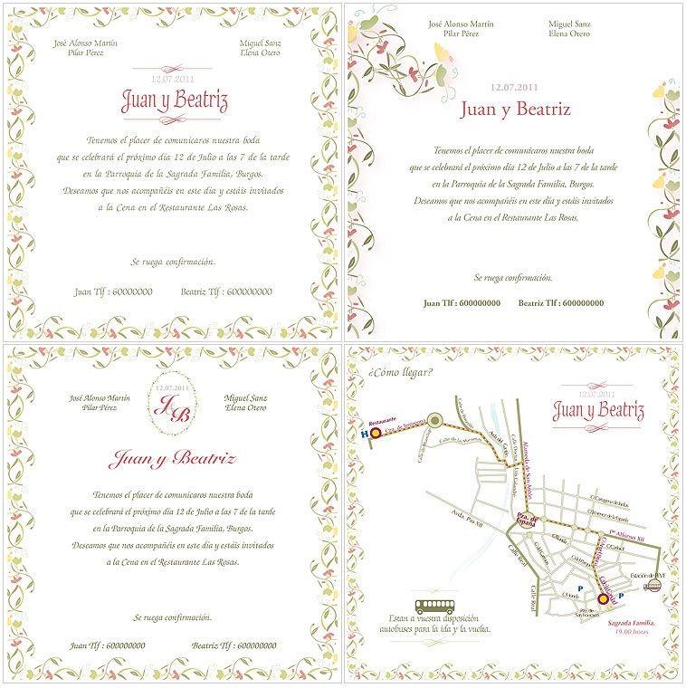 Disenos De Tarjetas De Matrimonio Para Imprimir Gratis