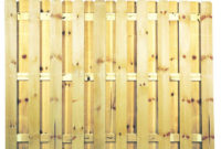 6 Ft X 8 Ft Pressure Treated Pine Shadowbox Fence Panel 0320850 intended for measurements 1000 X 1000