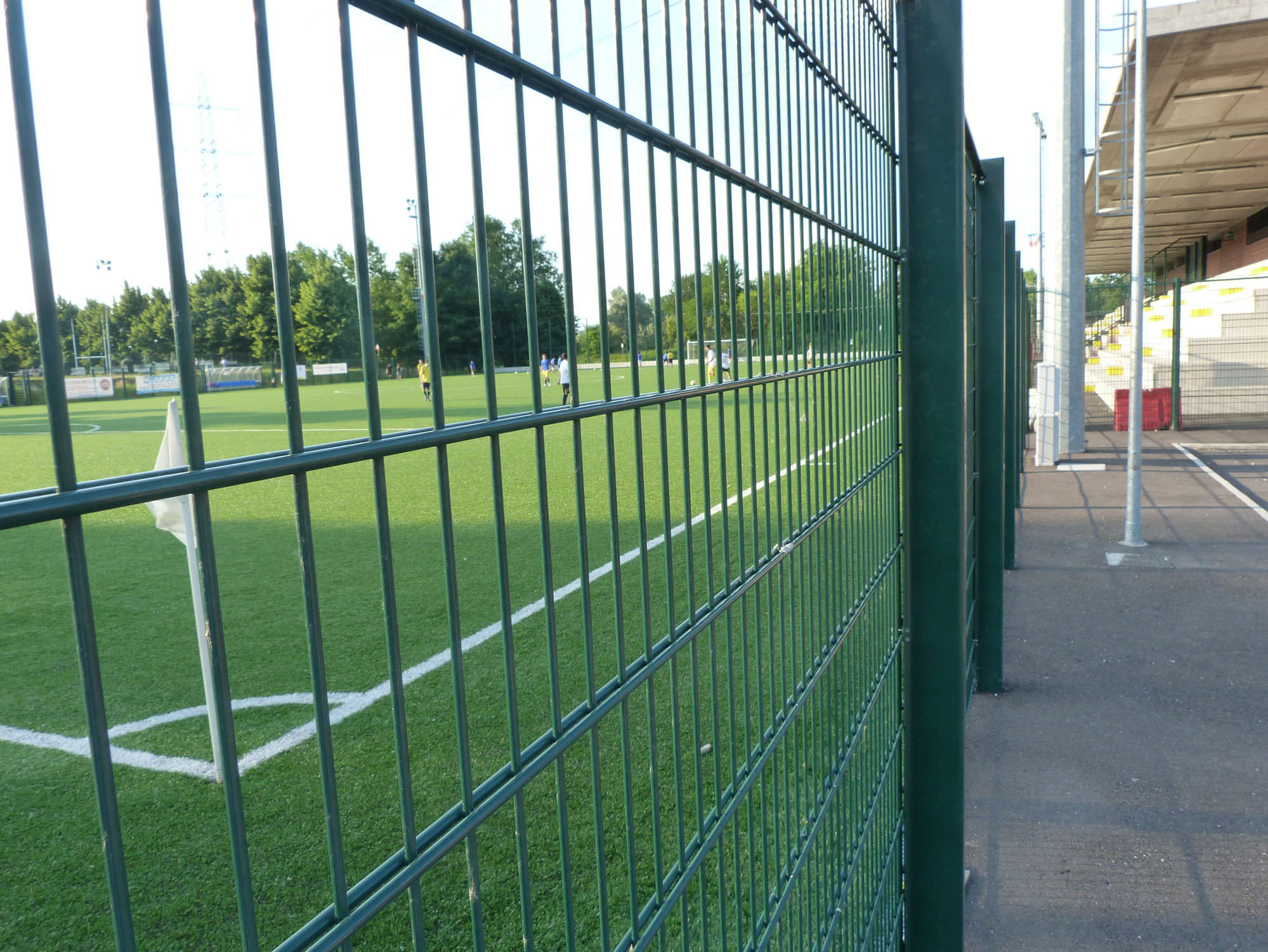 Athletic Field Fence Wire Mesh With Panels Steel Recintha for proportions 1999 X 1500