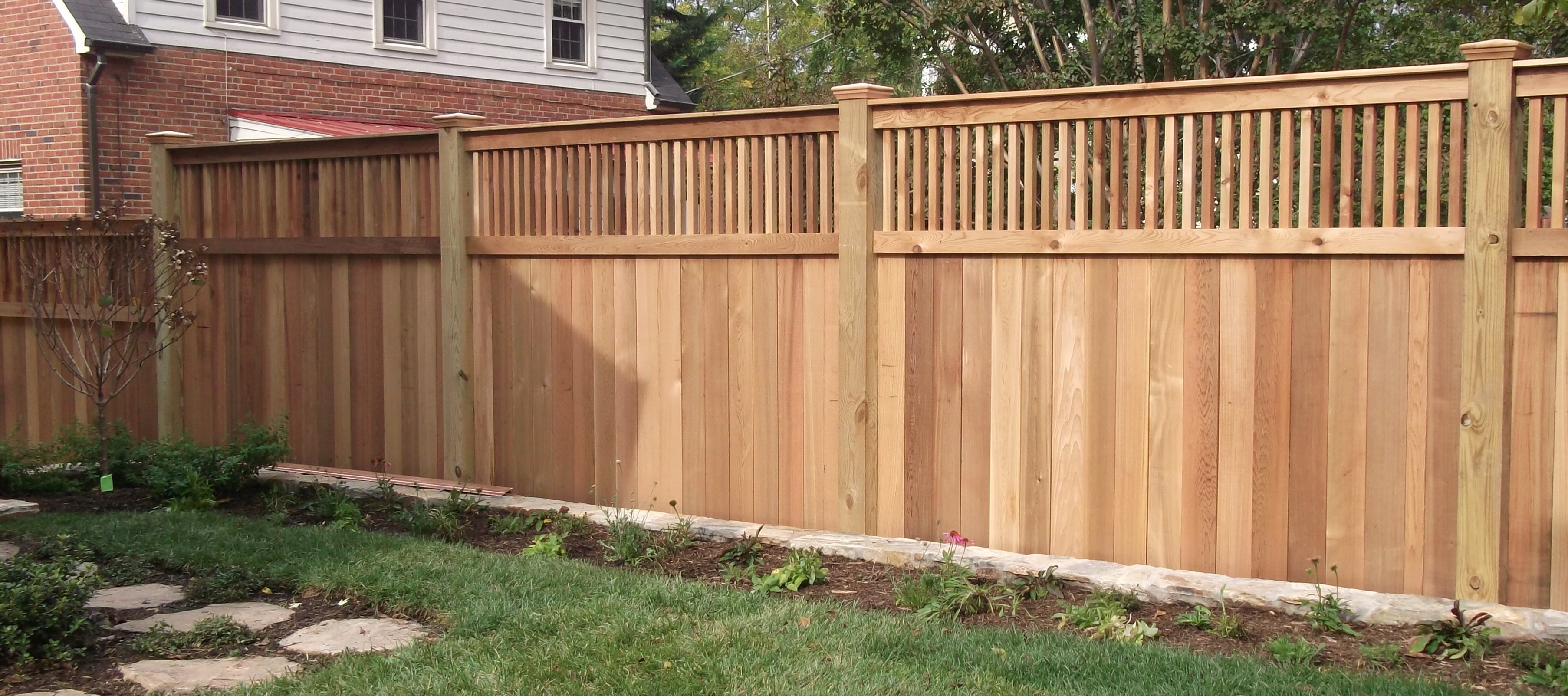 Different Styles Of Backyard Fences • Fences Design