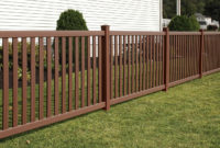 Baron Select Cedar Style Of Vinyl Fence Hoover Fence with regard to sizing 1287 X 880