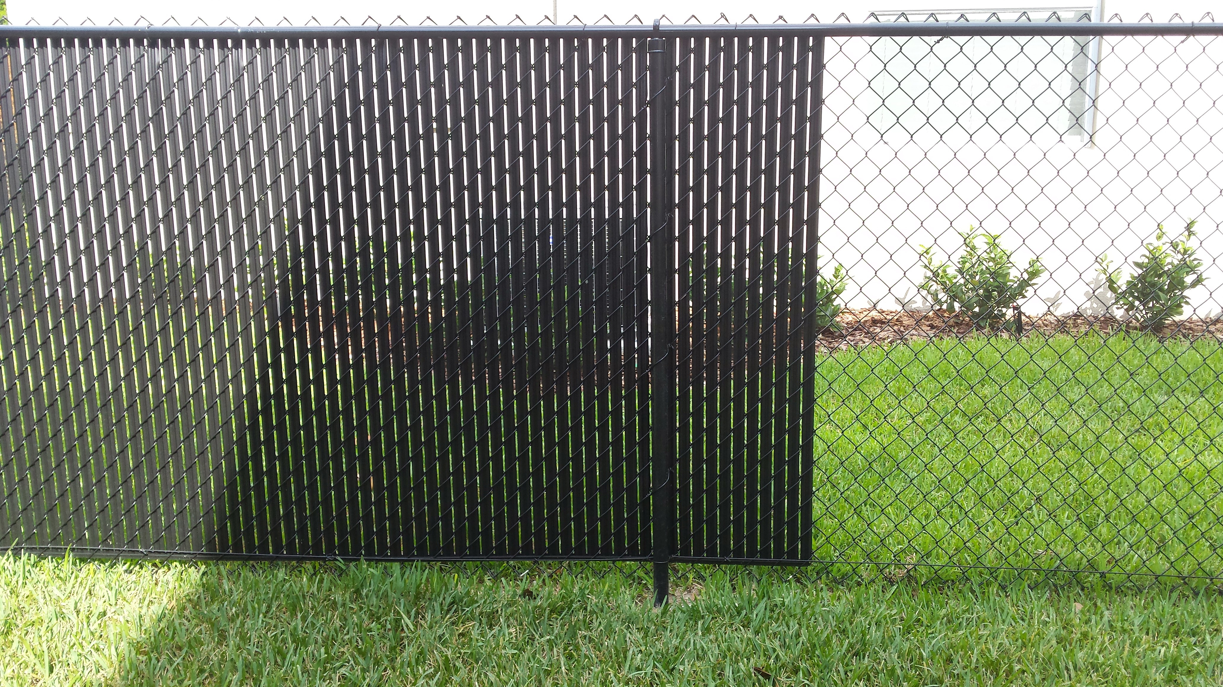 Black Chain Link Fence With Privacy Slats Wwwgalleryhip Slats For intended for size 4128 X 2322
