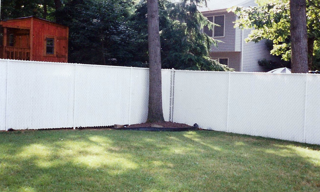 Chain Link With Slats Quality Fence Company Wwwqualityfence with size 1312 X 786