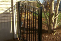 Decorative Metal Fence Installation Tips Installing Posts And with regard to proportions 1280 X 720