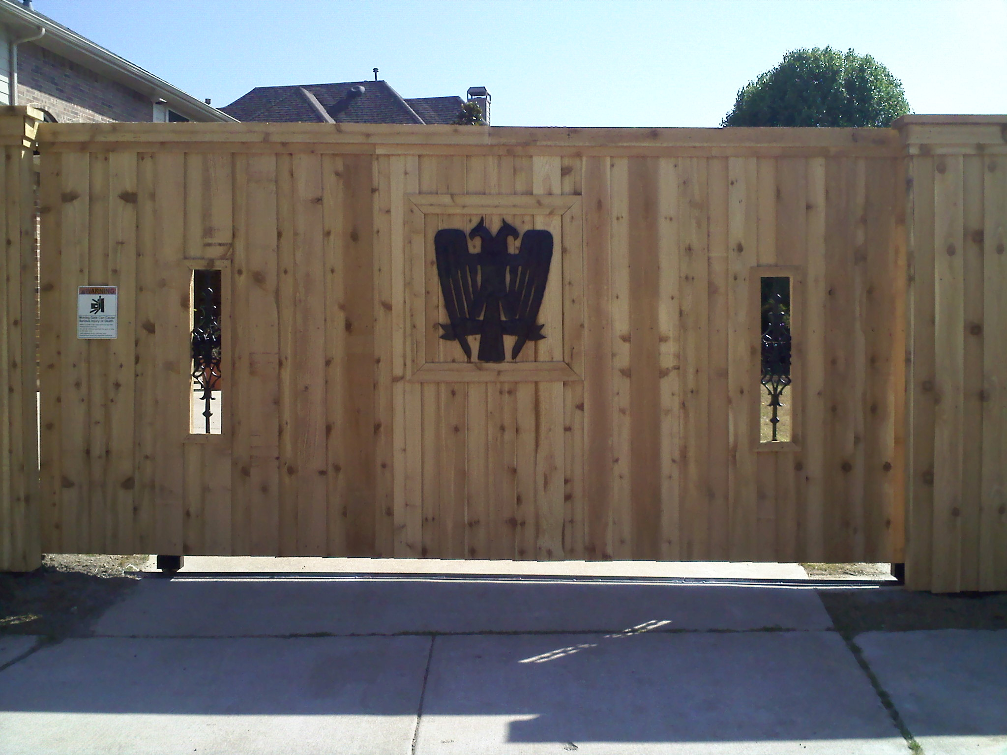 Fence Design Bird Close Fort Worth Fence Repair Automatic Gates with dimensions 2048 X 1536