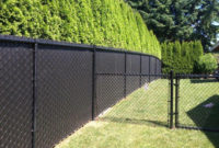 Fence Green Fence Stunning Chain Link Fence Privacy Slats Show 5 inside sizing 1263 X 771