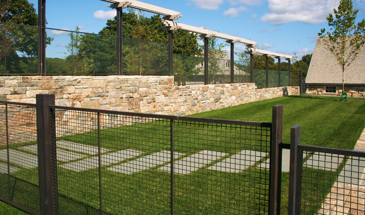 Fence Metal Fence Panels For Dogs Beautiful Woven Wire Fence pertaining to measurements 1178 X 695