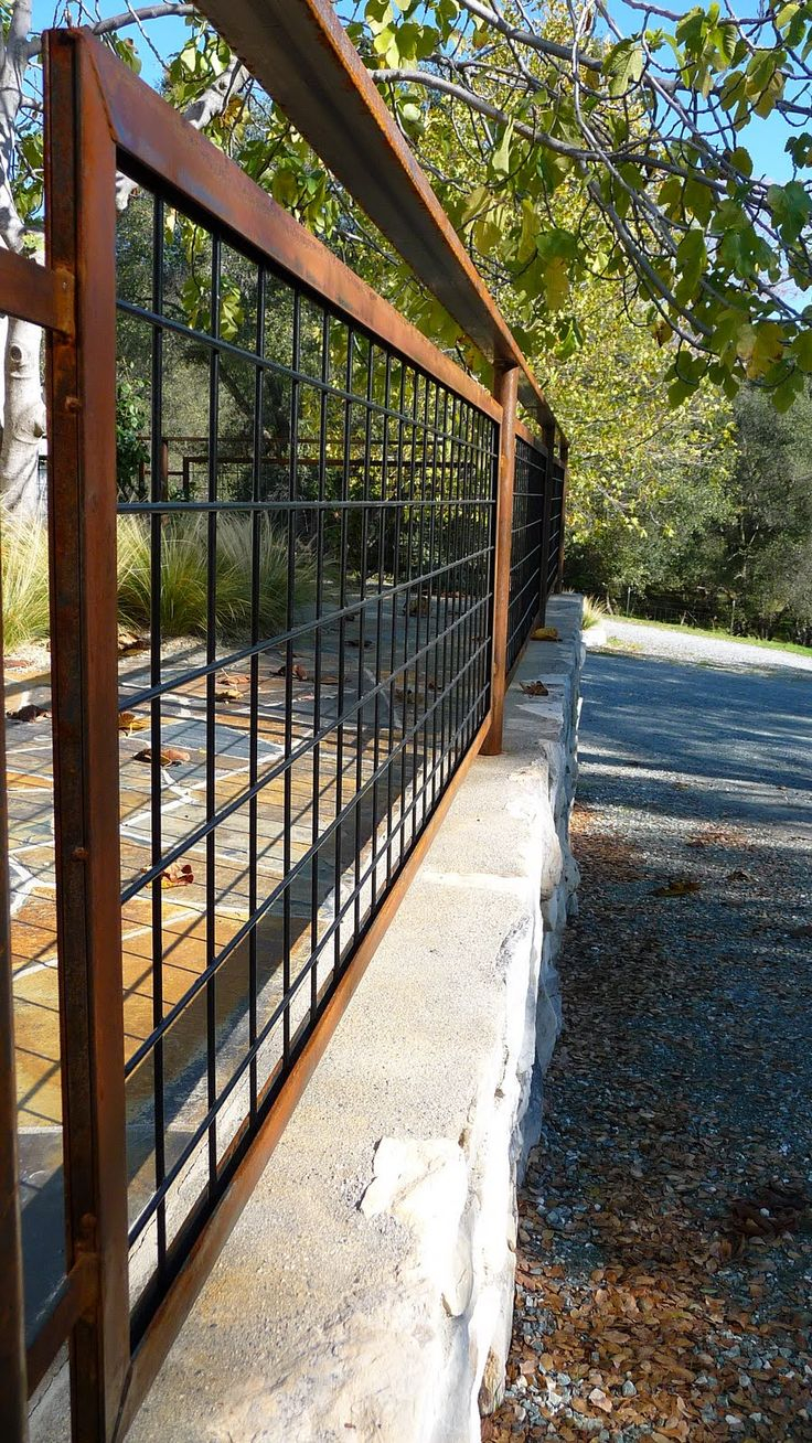 Fence Modern Wire Dog Fence Awesome Wire Fence Panels Ideas pertaining to proportions 736 X 1308