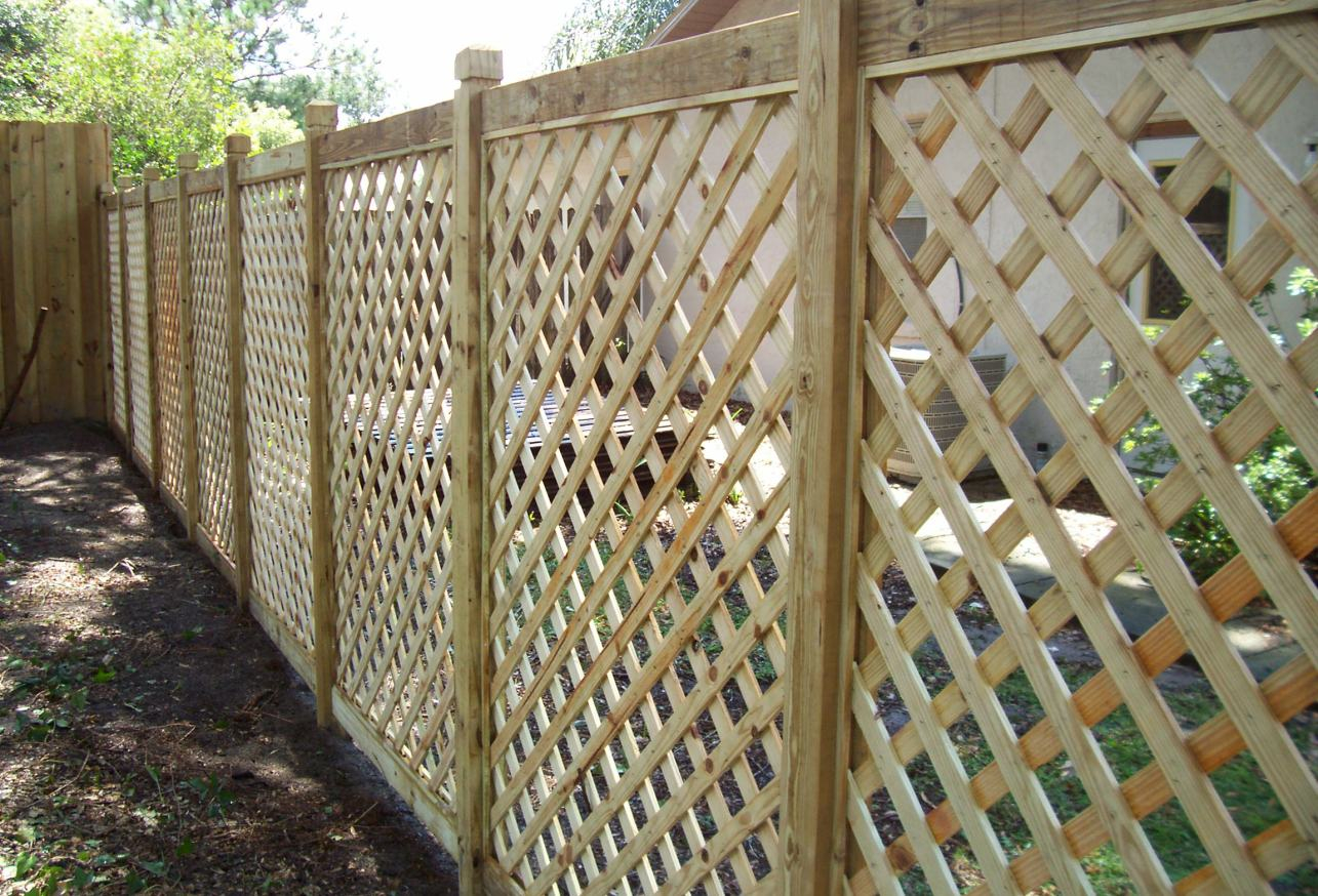 Fence Stunning 4 Foot Privacy Fence Unique Wood Fence Designs with measurements 1285 X 874