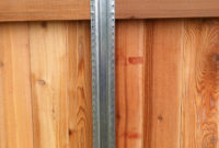 Fence Timber Fencing Awesome Metal Post Fence Awesome Metal throughout measurements 1936 X 2592
