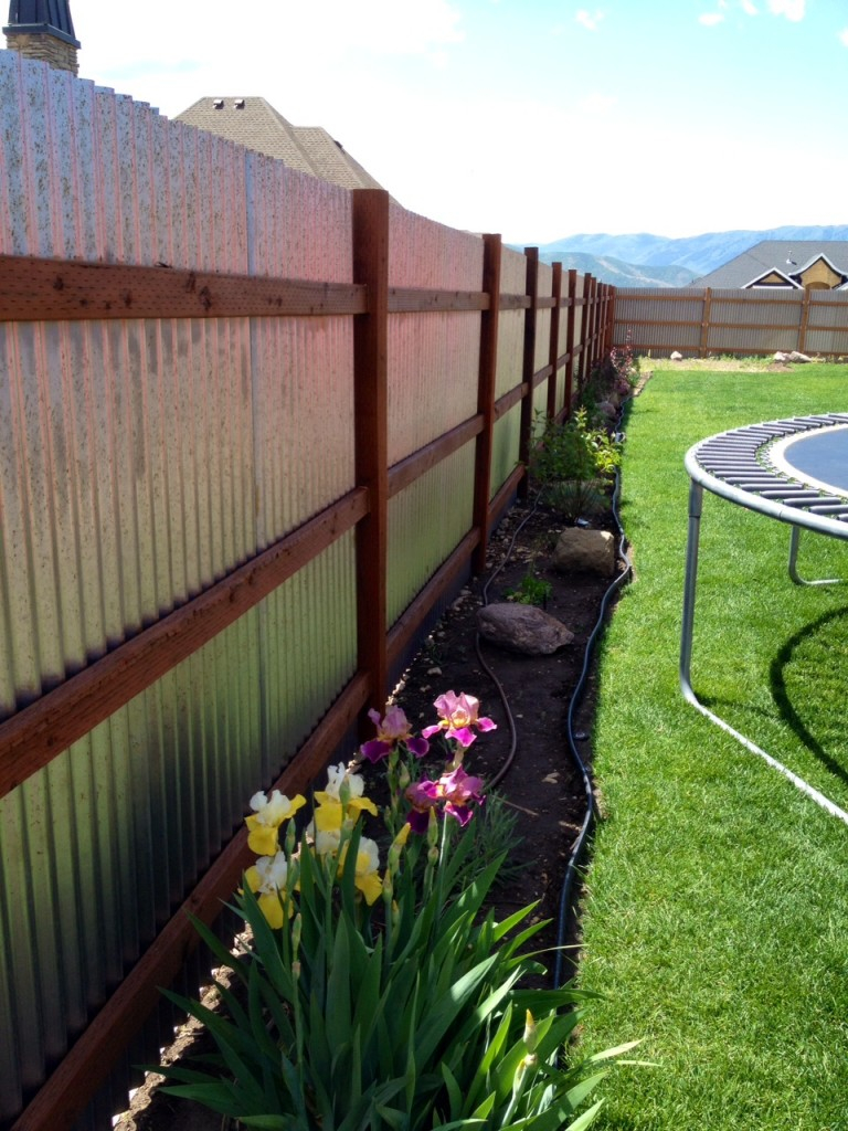 Fence Timber Fencing Awesome Metal Post Fence Awesome Metal with regard to dimensions 768 X 1024