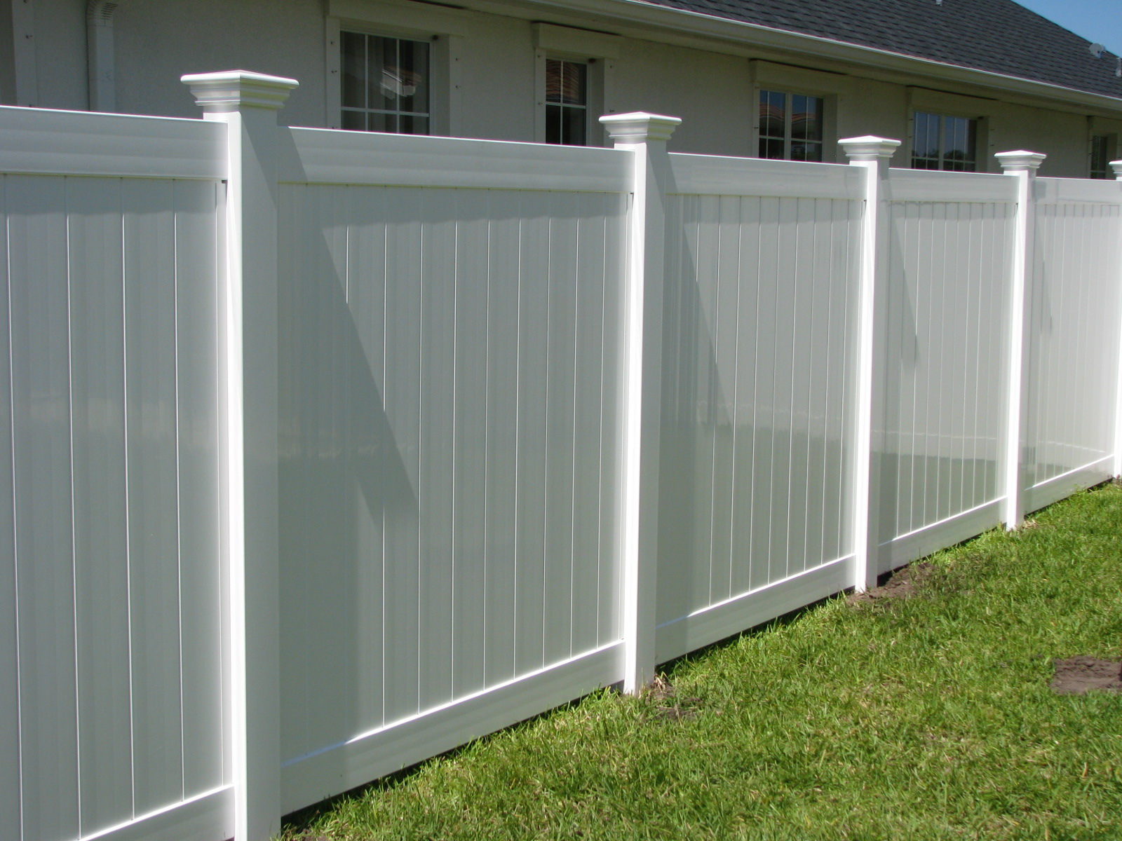 Fence Wonderful 6 Foot Vinyl Privacy Fence Freedom Ready To throughout sizing 1600 X 1200