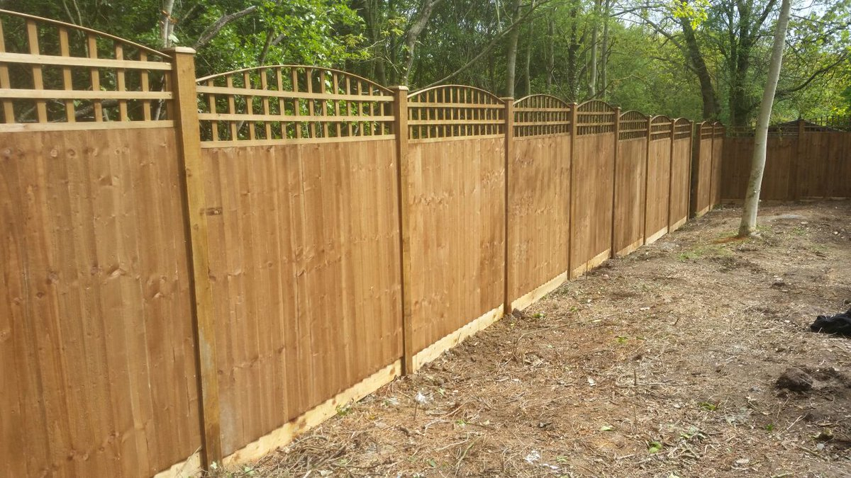 Lemon Fencing On Twitter Feather Edge Panels And Gate With inside measurements 1200 X 675