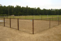 Make Brown Chain Link Fence Design And Ideas Of House in sizing 1600 X 1200