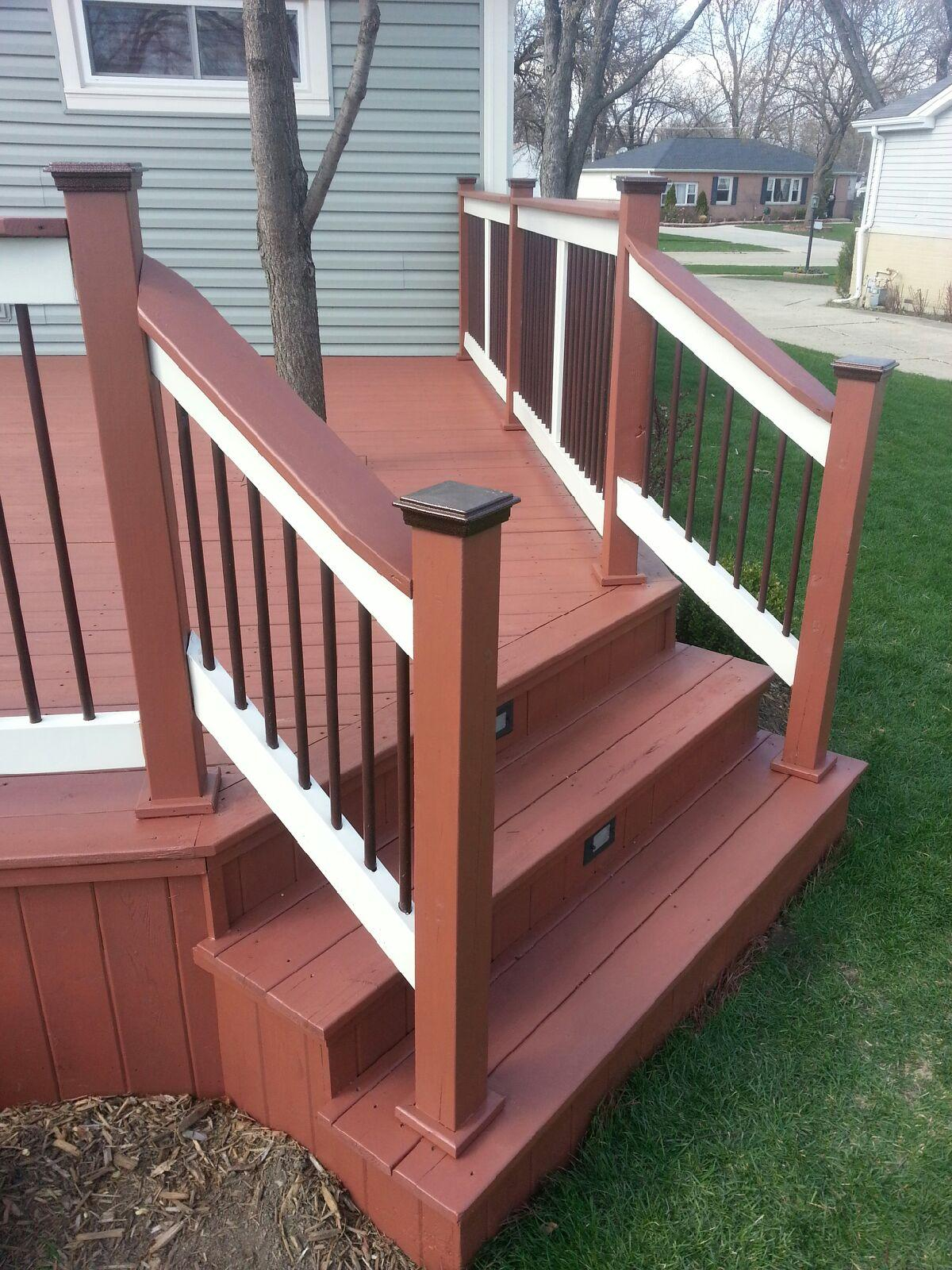 Northcraft Deck Staining Company Elgin Illinois Deck Cleaning intended for dimensions 1200 X 1600