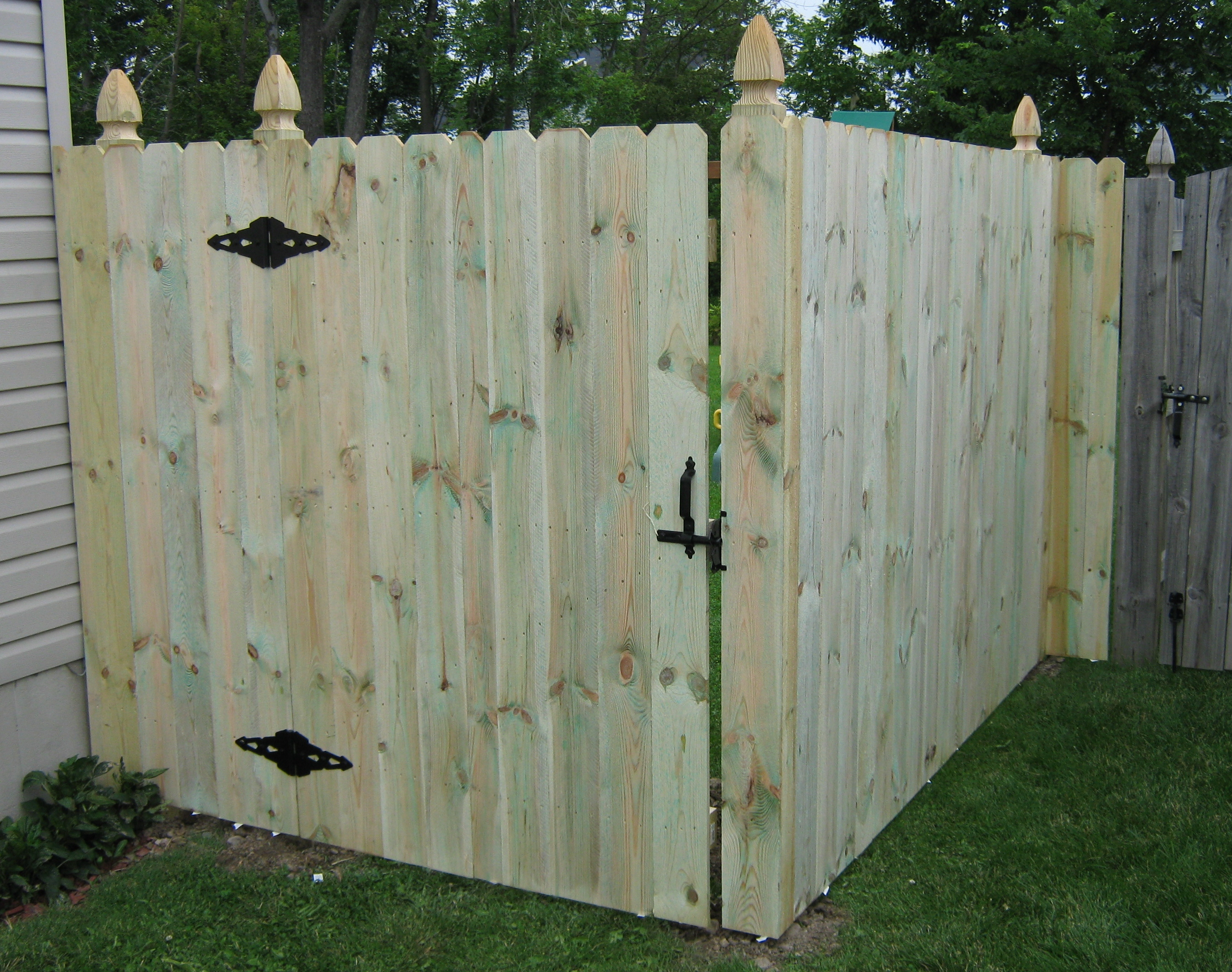 Pressure Treated Sadler Fence And Staining Llc throughout proportions 2692 X 2122