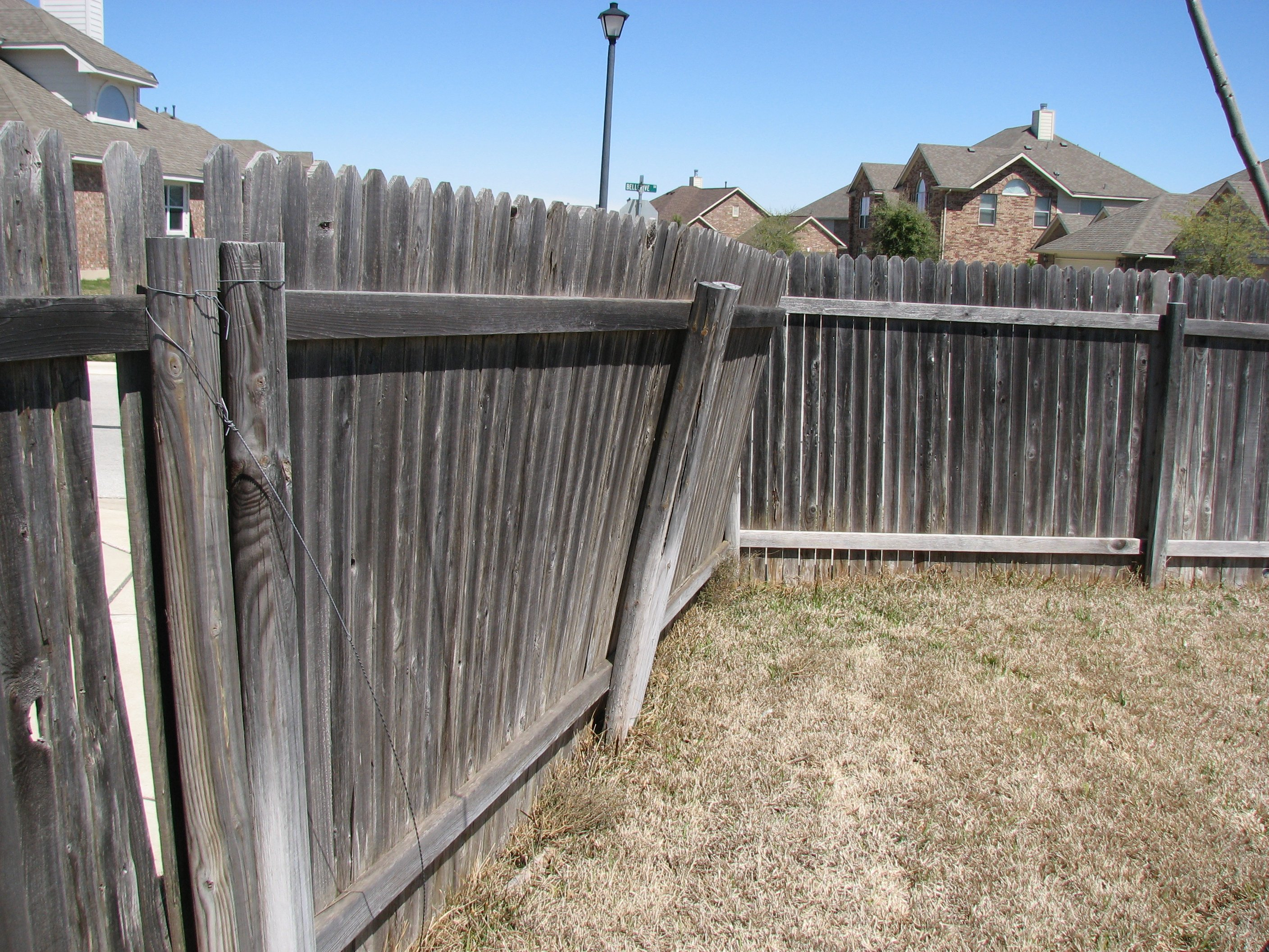 Fixing Wooden Fence Posts To Concrete • Fences Design