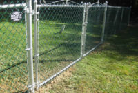Residential Chain Link Gates Page 14 with sizing 1095 X 821