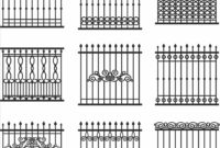 Rod Iron Fence Designs Home Gardens Geek in proportions 1899 X 1889