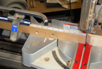 Side Trip Miter Saw Fence And Back To The Top The Garage Woodshop regarding measurements 2988 X 2165