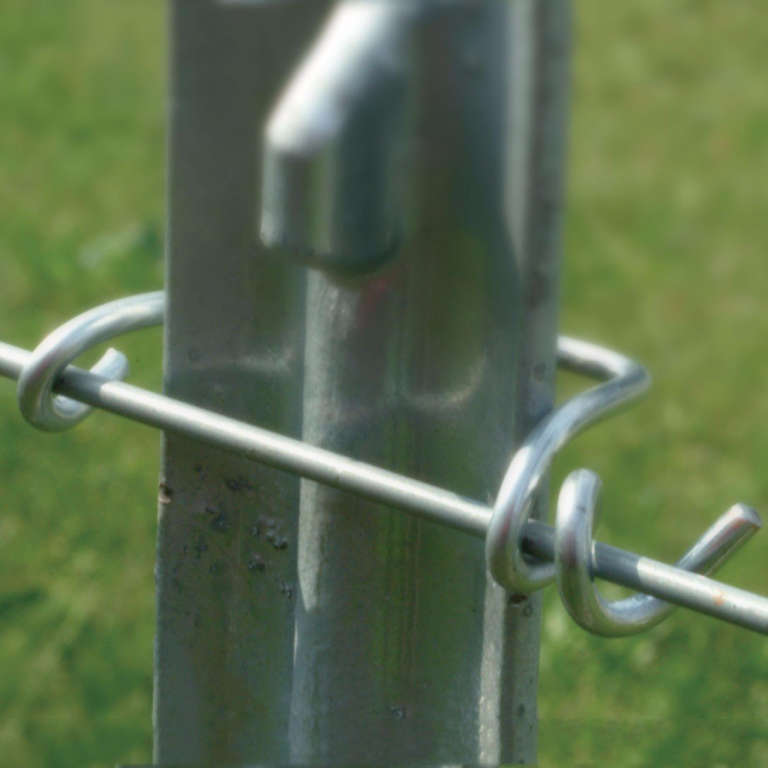 T Post Wire Clips Powerfields High Quality Electric Fence within dimensions 1085 X 1085